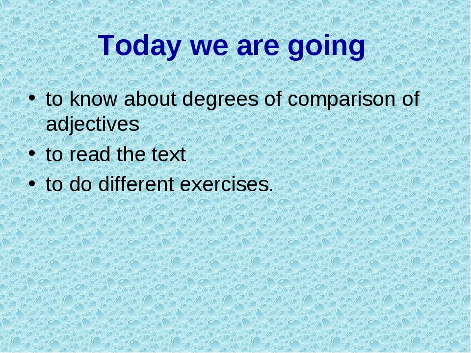 Today we are going to know about degrees of comparison of adjectives to read...
