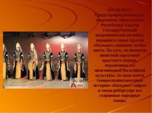 «НАЛЬМЭС» Среди профессиональных творческих коллективов Республики Адыгея Го