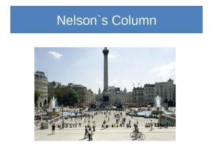 Nelson`s Column