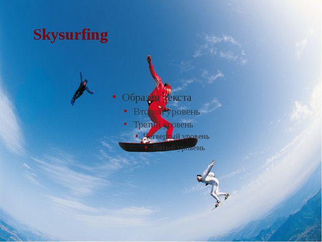 Skysurfing