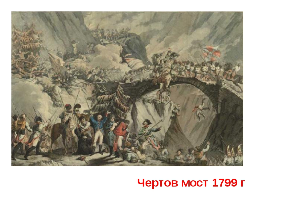 Чертов мост 1799 г