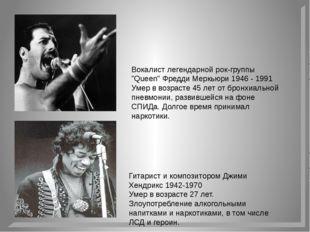"""Вокалист легендарной рок-группы """"Queen"""" Фредди Меркьюри 1946 - 1991 Умер в во"""