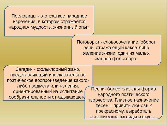 Пословицы - это краткое народное изречение, в котором отражается народная муд...