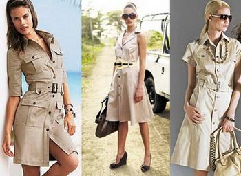 Колониальный стиль в одежде