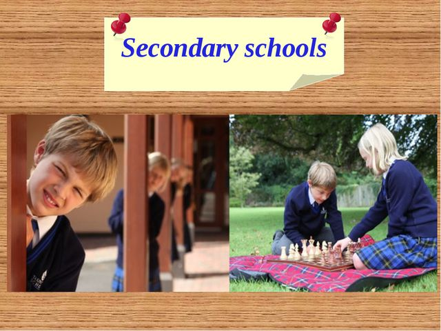 Secondary schools