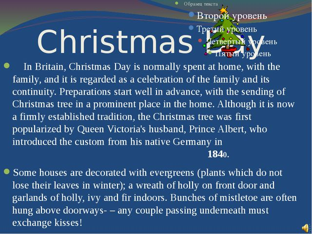 Christmas Day In Britain, Christmas Day is normally spent at home, with the f...