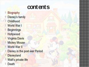 Disney's family Walter Elias Disney was born in Chicago Illinois, to his fat