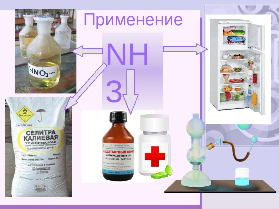 Применение NH3