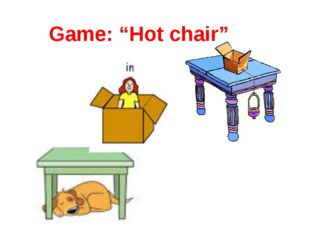 """Game: """"Hot chair"""""""