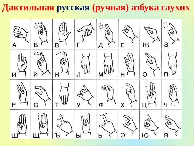 Букварь Русского Жестового Языка