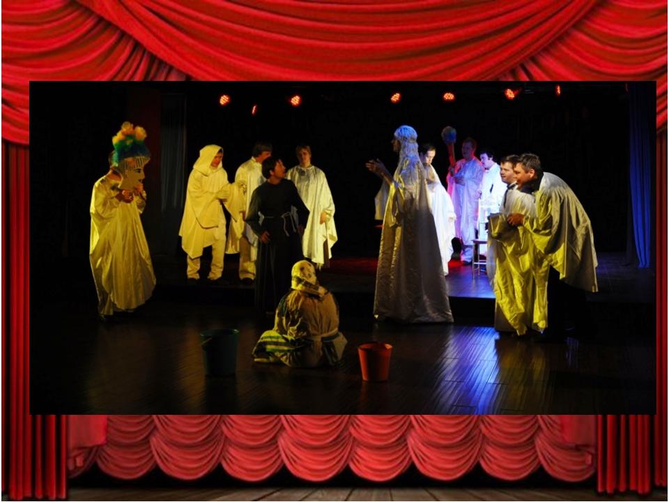 """""""Театр Простодушных"""" стремится быть в авангарде театральных достижений, сотру..."""