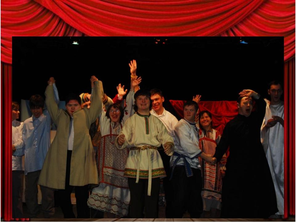 """""""Театр Простодушных"""" много гастролирует по России и за её рубежами. Были отве..."""