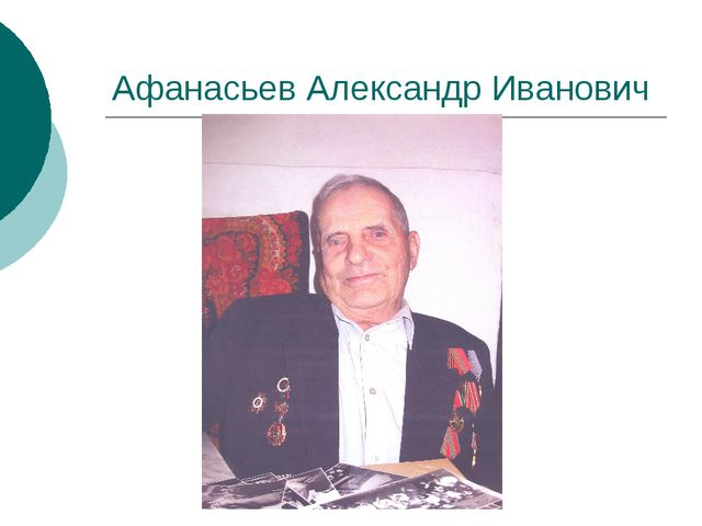 Афанасьев Александр Иванович