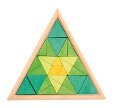 Мозаика «Треугольники, разноцветная» (арт. 43301)