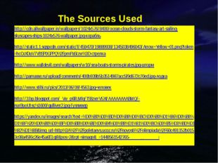 The Sources Used