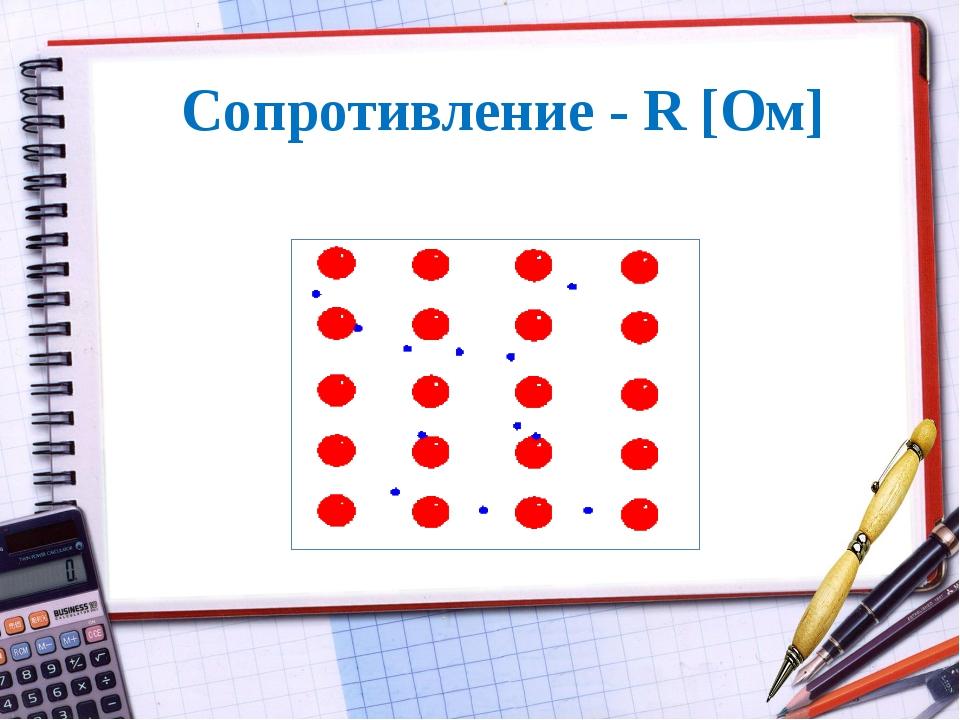 Сопротивление - R [Ом]