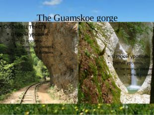 The Guamskoe gorge