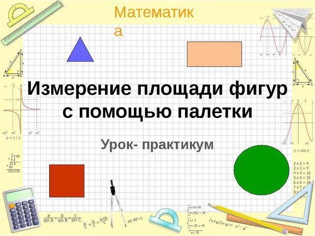 Измерение площади фигур с помощью палетки Урок- практикум Математика