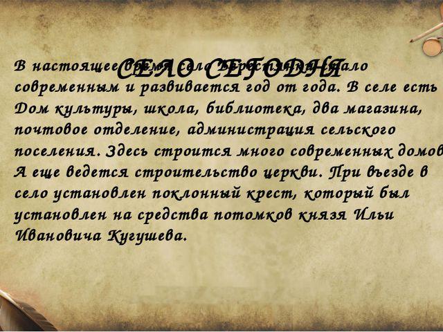 СЕЛО СЕГОДНЯ В настоящее время село Берестянки стало современным и развиваетс...