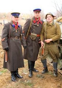 Форма Красной Армии во время Великой Отечественной войны