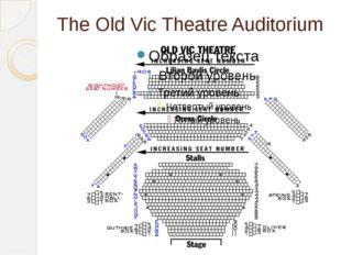 The Old Vic Theatre Auditorium