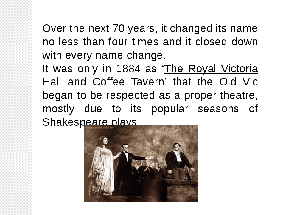 Over the next 70 years, it changed its name no less than four times and it cl...