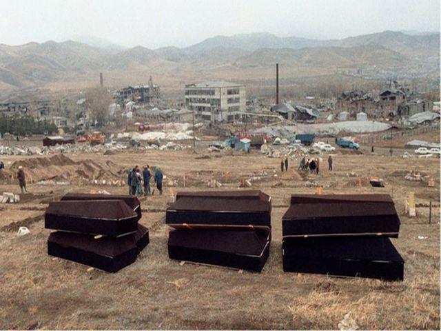 В результате землетрясения были разрушены или пришли в аварийное состояние о...