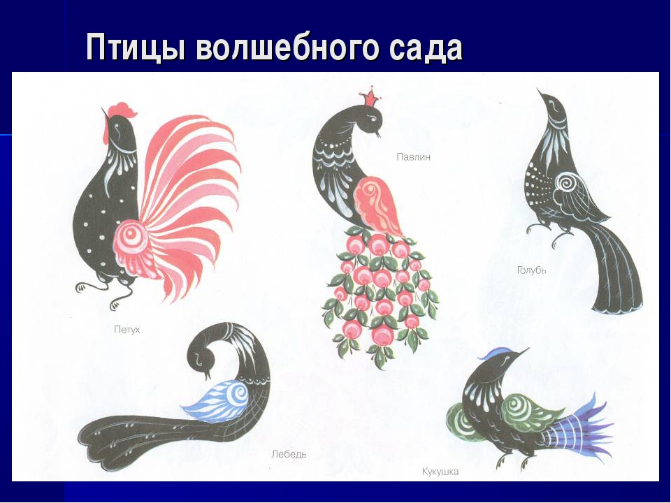 Птицы волшебного сада