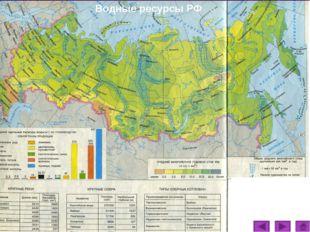 Водные ресурсы РФ