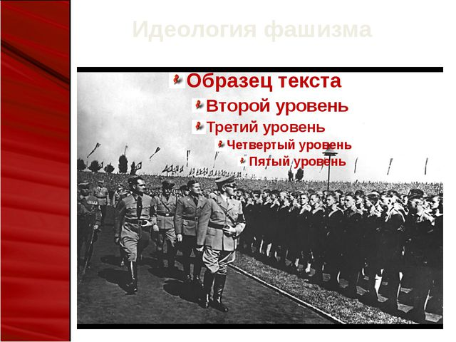 Идеология фашизма