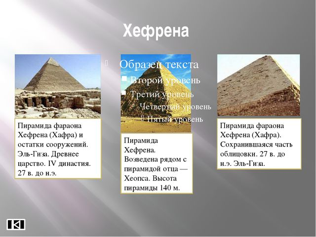 Архитектурные сооружения позднего царства