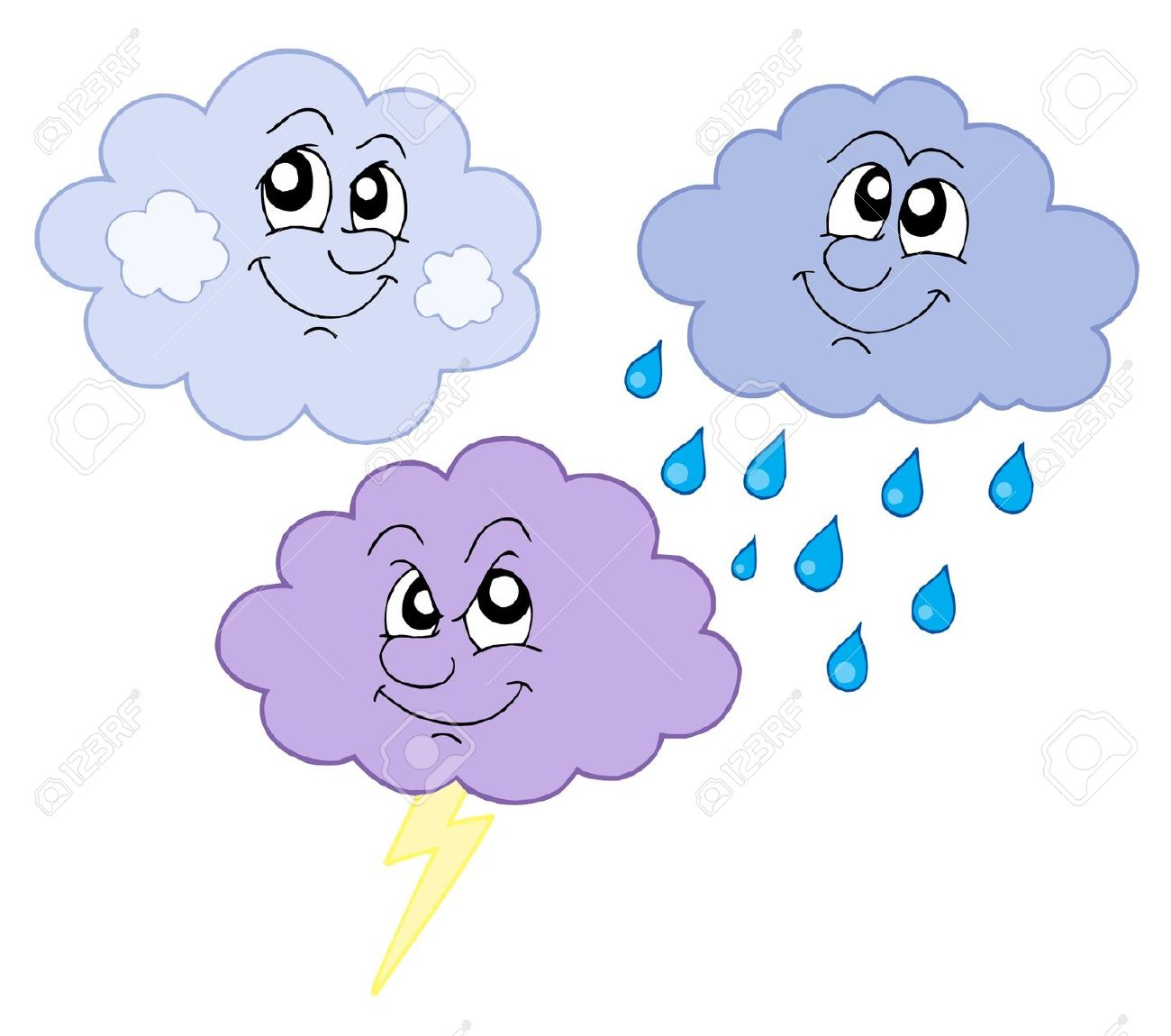 http://previews.123rf.com/images/clairev/clairev0807/clairev080700153/3325142-Various-cute-clouds-vector-illustration--Stock-Vector-clouds-cloud-drawing.jpg