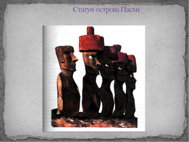 Статуи острова Пасхи Некоторые статуи достигают в высоту 22 метров- высота 7-...