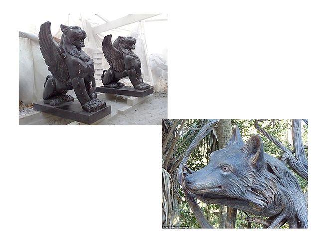 Материал предъявляет скульптору свои требования при работе с ним. Характер ма...