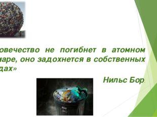 «Человечество не погибнет в атомном кошмаре, оно задохнется в собственных от