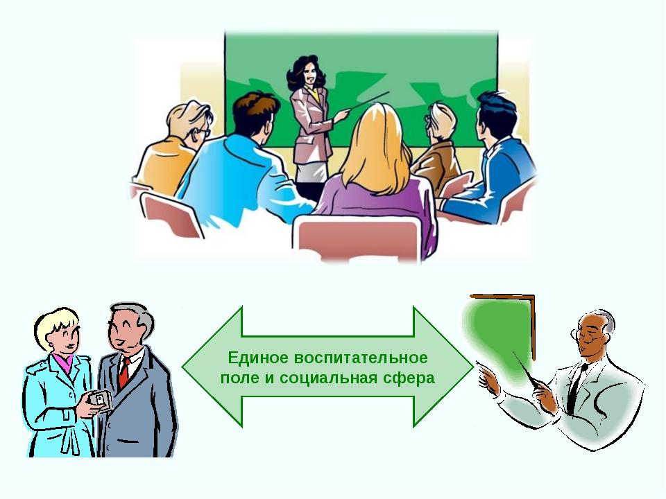 Единое воспитательное поле и социальная сфера