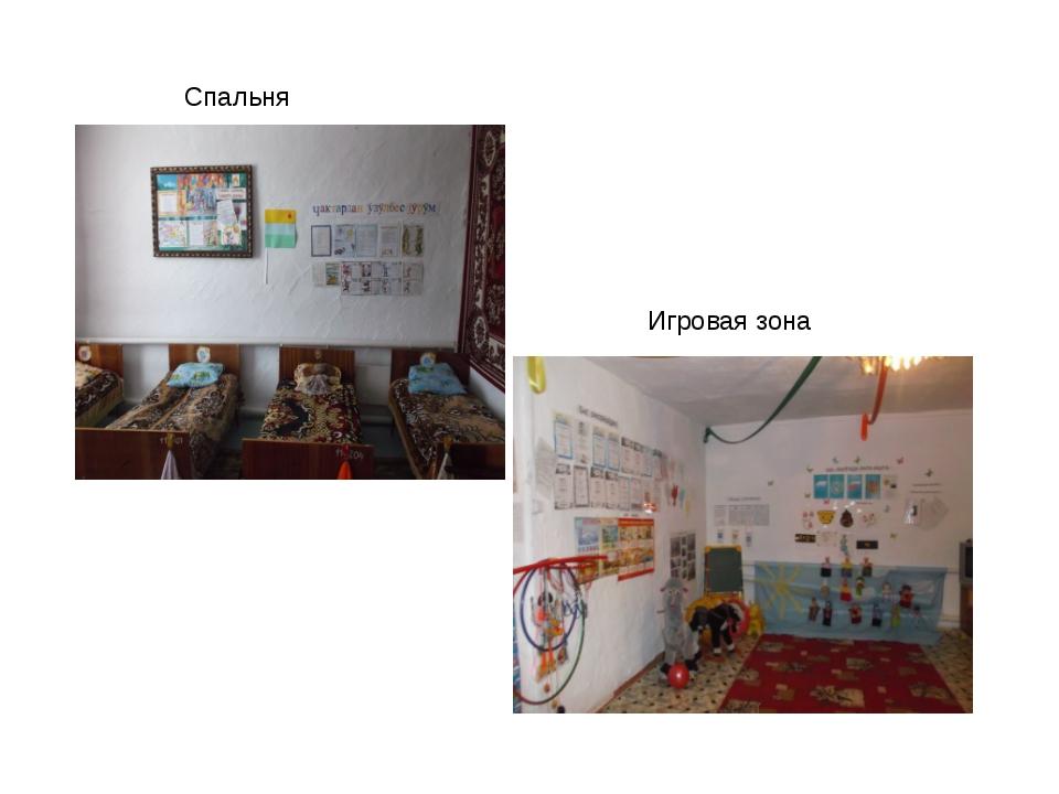 Спальня Игровая зона