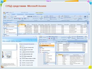 СУБД средствами Microsoft Access 2 Tab 9 Alt Ins Esc End O Щ