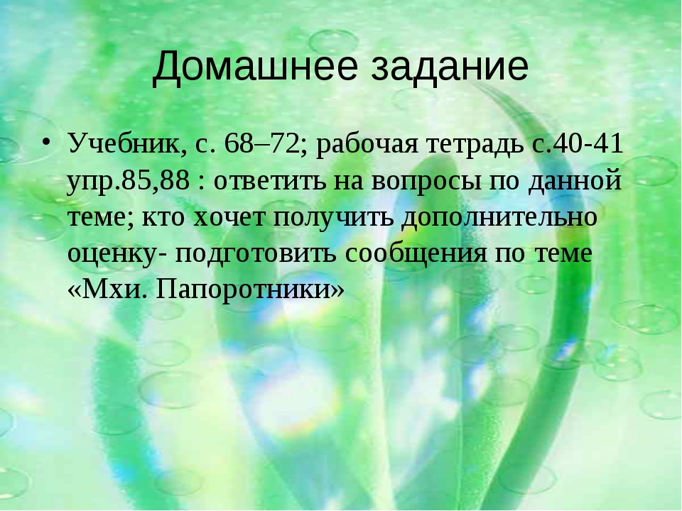 Домашнее задание Учебник, с. 68–72; рабочая тетрадь с.40-41 упр.85,88 : ответ...
