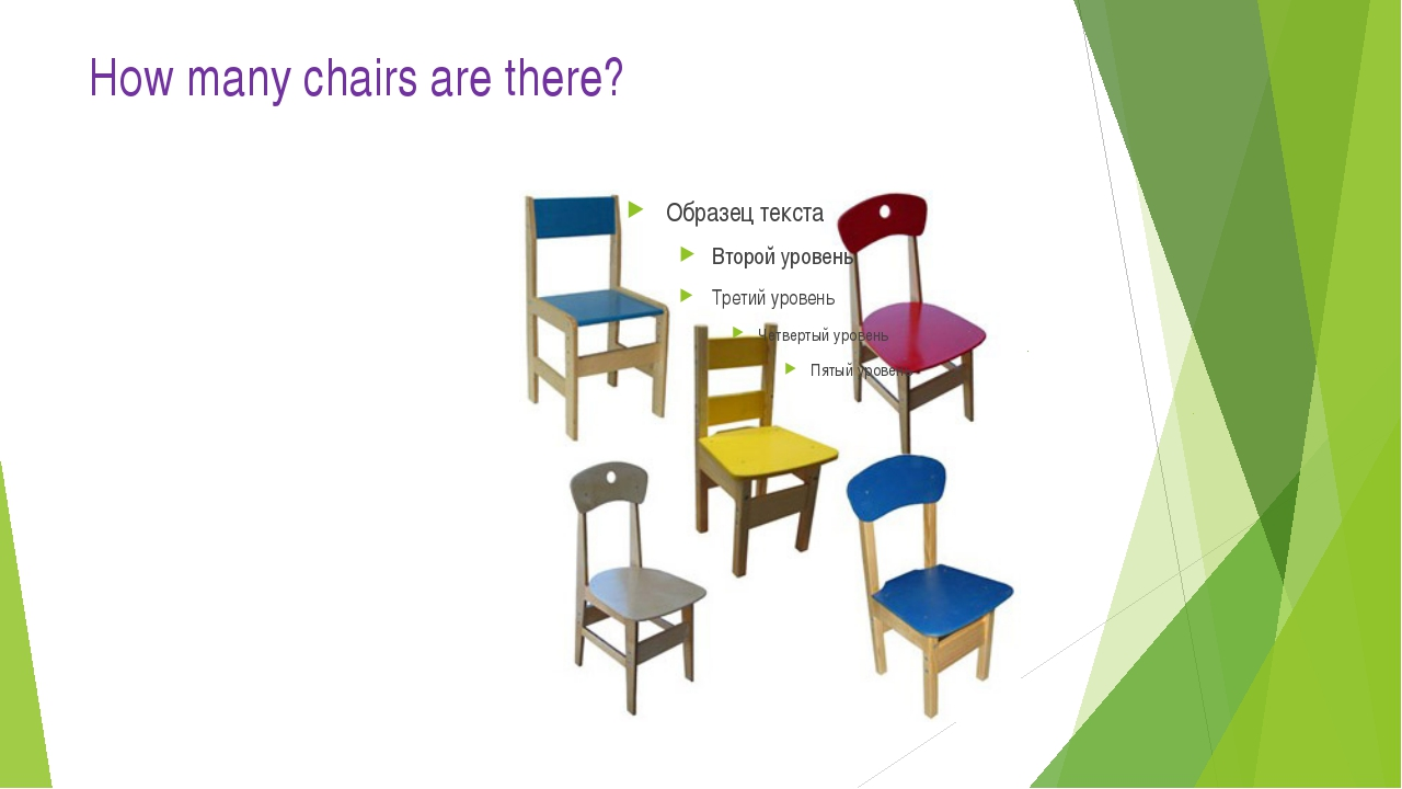 How many chairs are there?