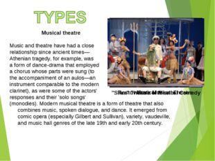 Rostov State Musical Theatre Musical theatre Music and theatre have had a clo