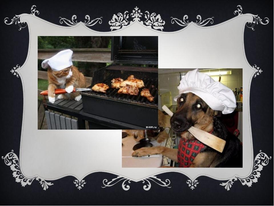 Повар у плиты творит, Как на крыльях он парит. Все бурлит вокруг него, Кухня...