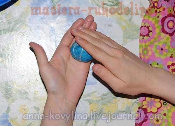 Мастер-класс по валянию из шерсти: Войлочные бусы