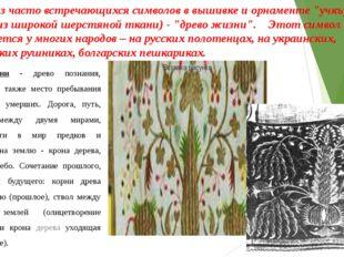 """Один из часто встречающихся символов в вышивке и орнаменте """"учкъурах"""" - (поя"""