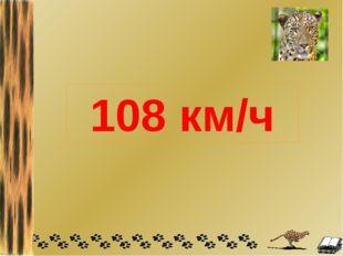 108 км/ч
