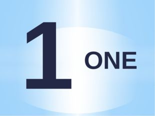 ONE 1