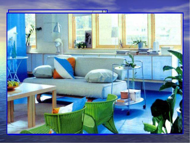 Он подходит как основной цвет и для гостиных, где может варьироваться в разли...