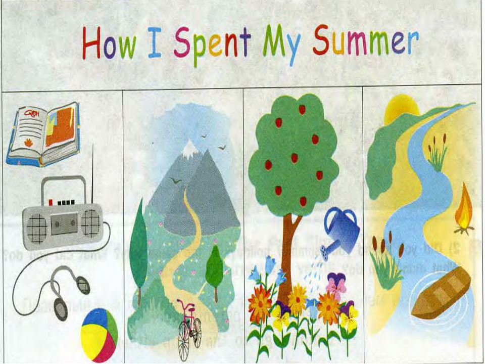 primary school essay how did i spend my summer vacation Many uk universities are essay on how i will spend my summer school write an essay on how i spent my essay on how i spent my last summer vacation.