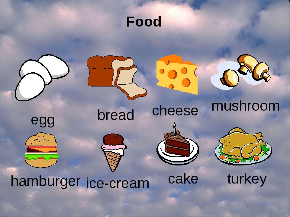 egg bread cheese mushroom hamburger ice-cream turkey cake Food