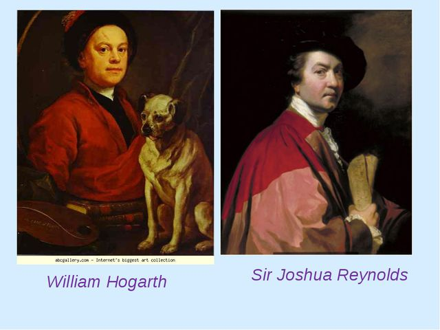 William Hogarth Sir Joshua Reynolds